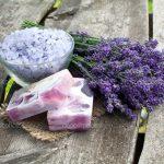 lavender bath sea salt and soap